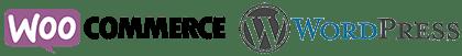 Logo da Plataforma Woocommerce e Wordpress
